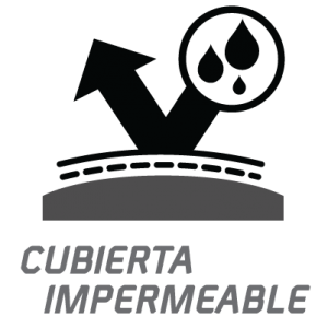 Cubierta impermeable